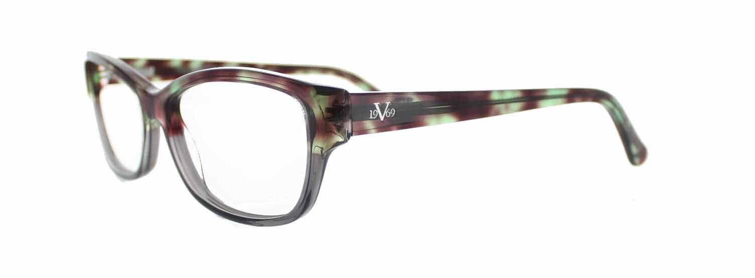 lunettes versace dans un fond blanc