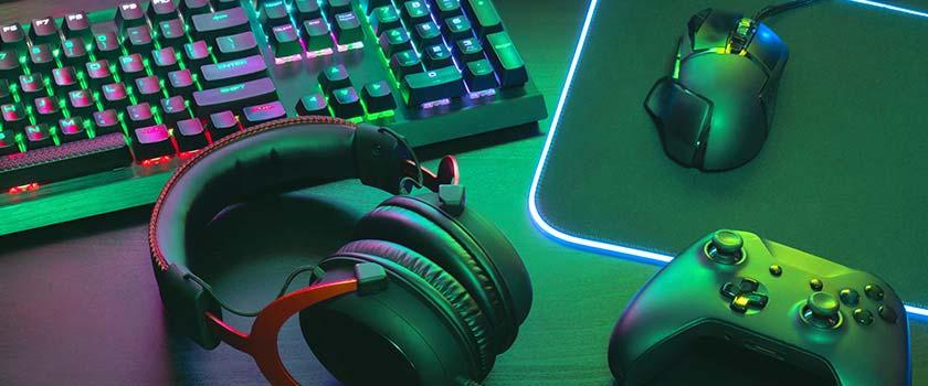 les jeux vidéos et la lumière bleue