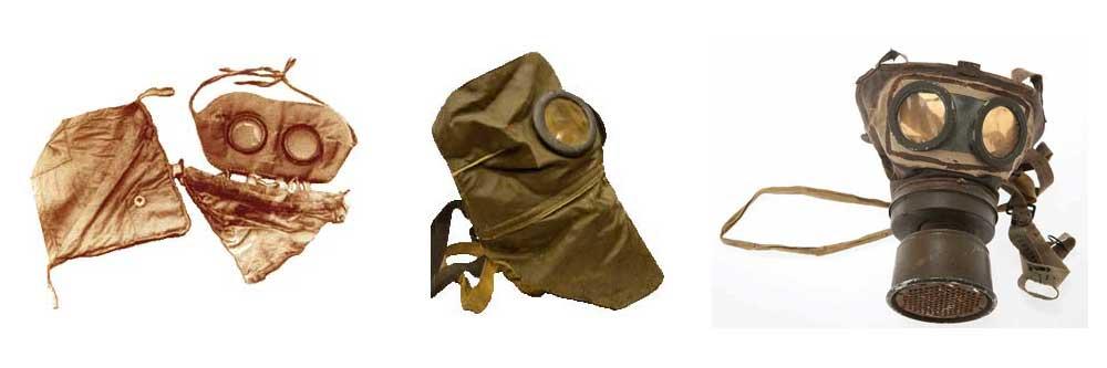 masques à gaz première guerre mondiale